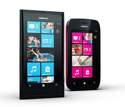 Les smartphones Nokia Lumia