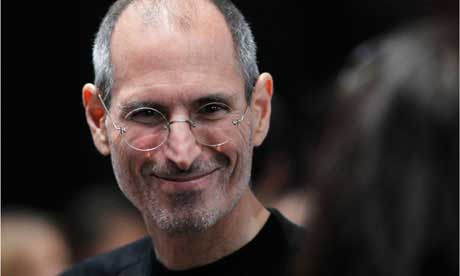 Steve Jobs Souriant