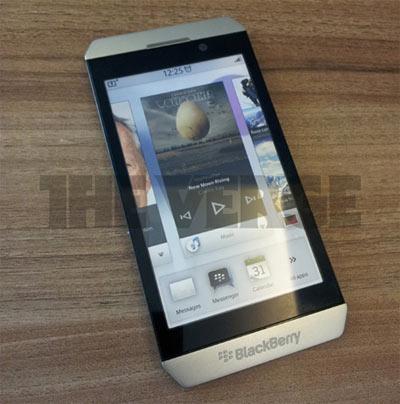 BlackBerry London sous BBX