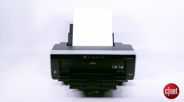 Démo de l'Epson Stylus Photo R2000
