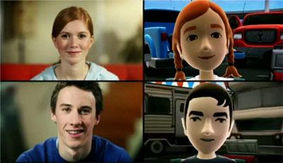Kinect 2 précision visage