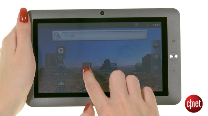 Démo de Memup SlidePad 700 Series
