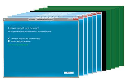 Mise à jour vers Windows 8