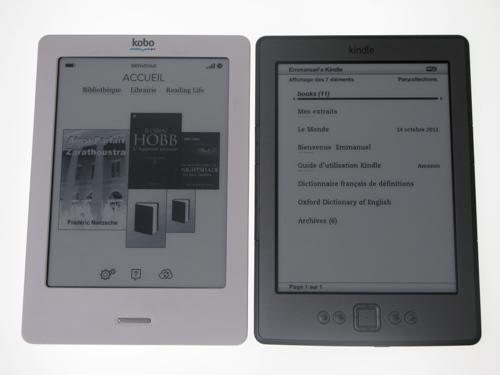 site professionnel large sélection les clients d'abord Face à Face: FNAC Kobo vs Amazon Kindle - CNET France
