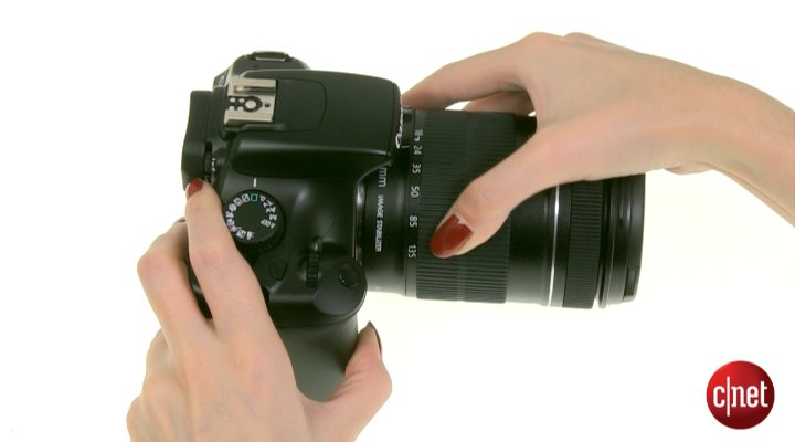 Démo du Canon EOS 1100D