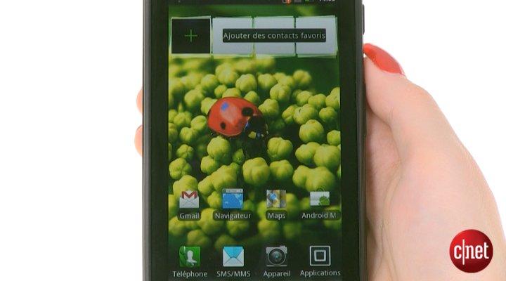 Démo du Motorola Razr