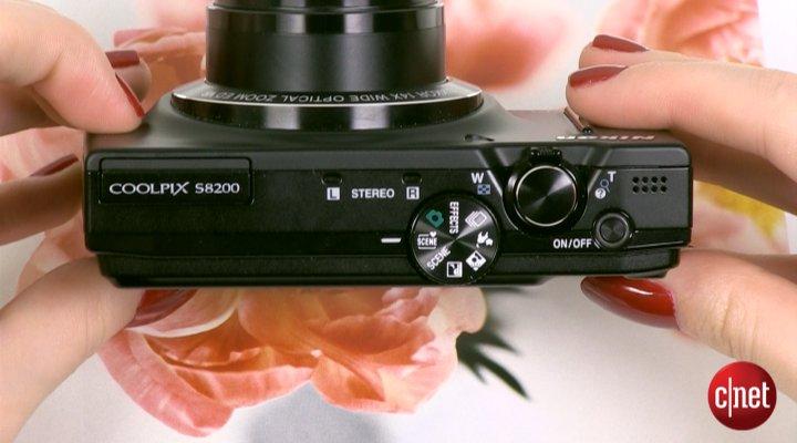 Démo du Nikon Coolpix S8200