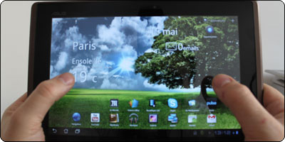 Android 4.0 ICS asus eee pad transformer