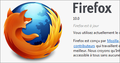 Mozilla Firefox 10