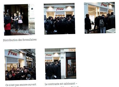 Boutique Free à Rouen