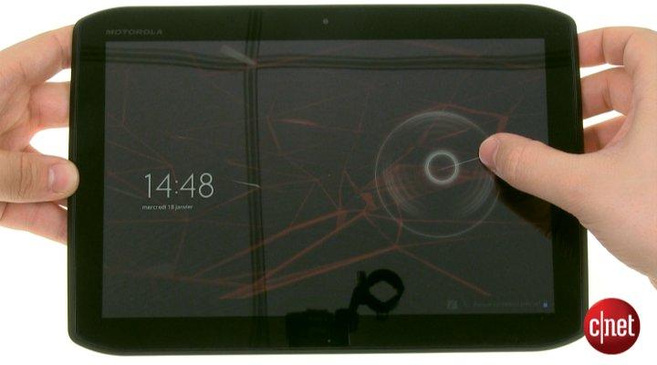 Démo de la  Motorola Xoom 2