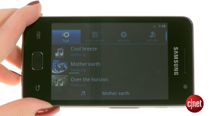 Démo du Samsung Galaxy S WiFi 3.6