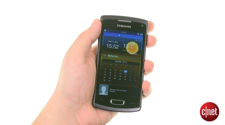 Démo du Samsung Wave 3