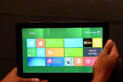 Tablette Windows 8 Intel Cloverfield