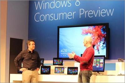 Windows 8 au MWC