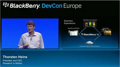 Blackberry Playbook 2.0 Devcon