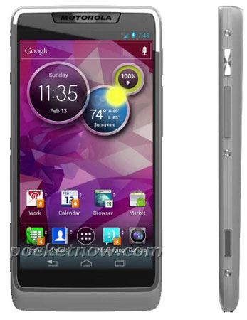 Motorola puce Medfield Android 4 ICS