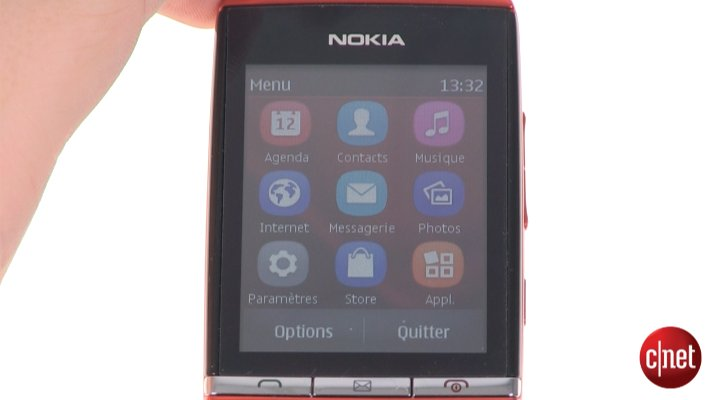 Démo du Nokia Asha 300