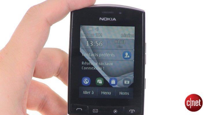 Démo du Nokia Asha 303