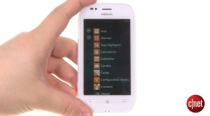 Démo du Nokia Lumia 710
