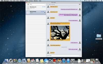 Mountain Lion Apple OS X 10.8 preview