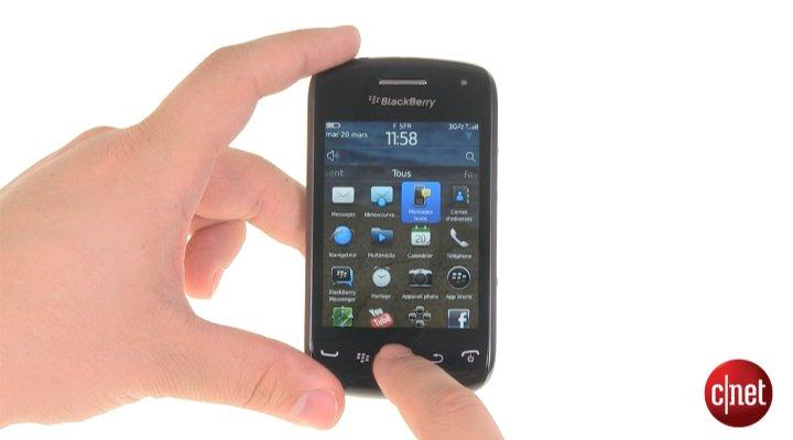 Démo du RIM Blackberry Curve 9380