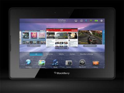 Blackberry OS 10 (BB 10) sur Playbook