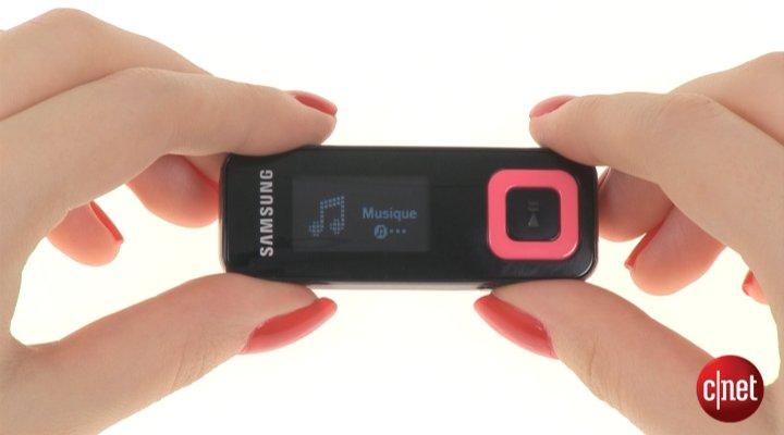 Démo du Samsung YP-F3