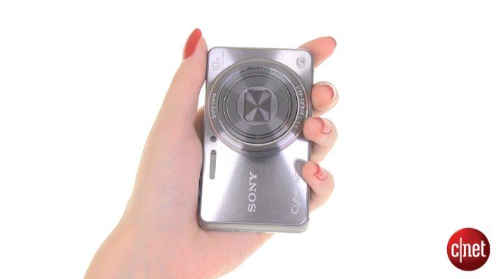 Démo du Sony CyberShot WX100