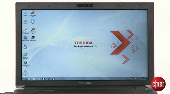Démo du Toshiba Satellite R850