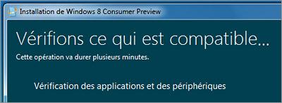 Compatibilité Windows 8