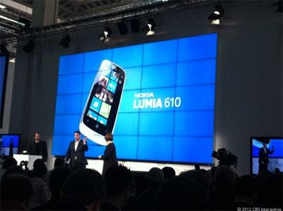 Windows Phone Tango sur le Lumia 610