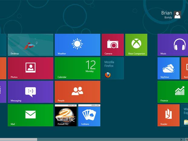 Premier prototype de Firefox pour Windows 8