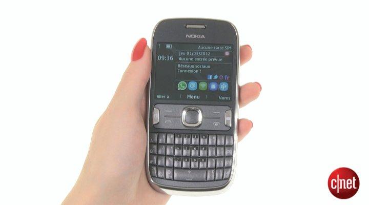Démo du Nokia Asha 302