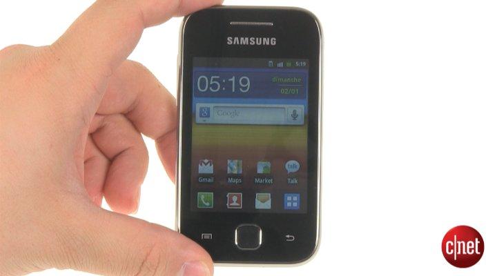 Démo du Samsung Galaxy Y