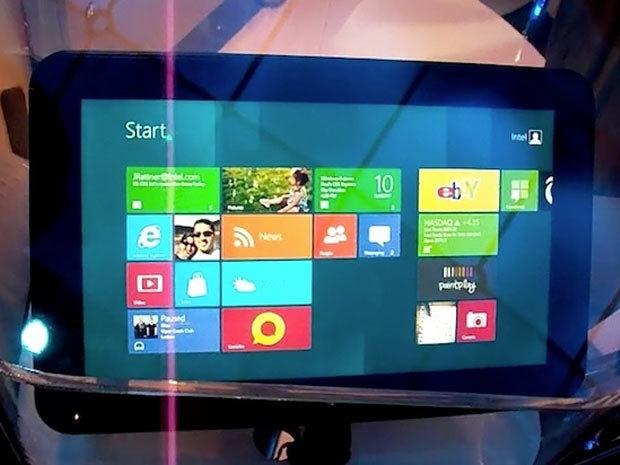 Les premières tablettes Windows 8 prévues pour novembre