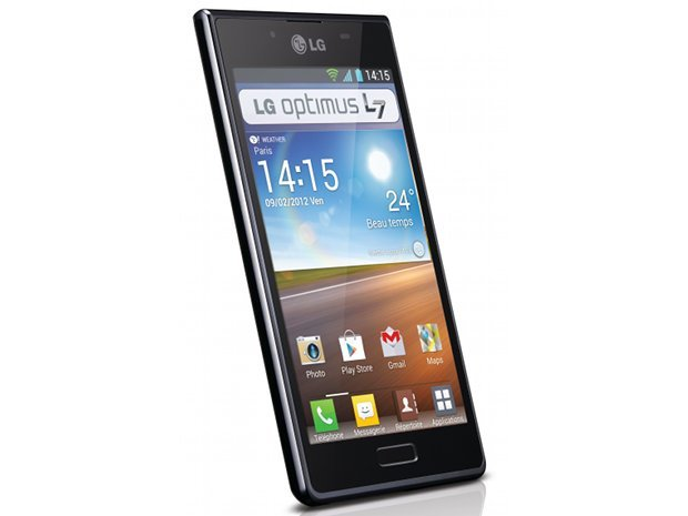 Démo du LG Optimus L7