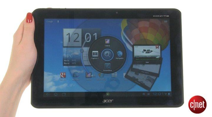 Démo de l'Acer Iconia Tab A510