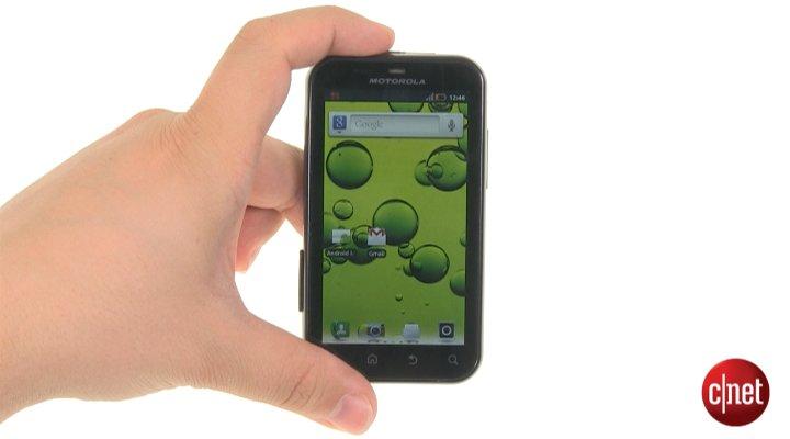 Démo du Motorola Defy+