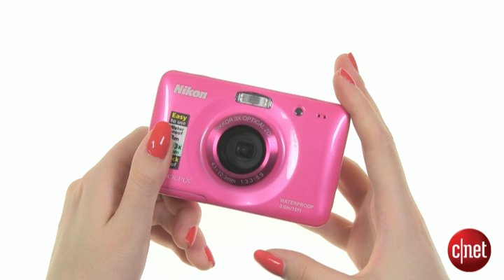 Démo du Nikon Coolpix S30