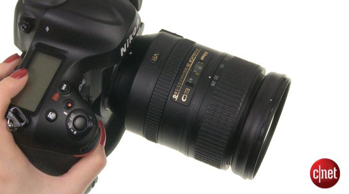 Démo du Nikon D4