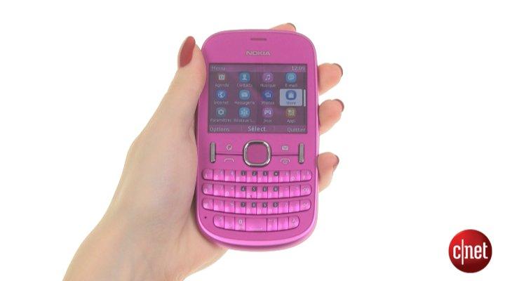 Démo de Nokia Asha 201