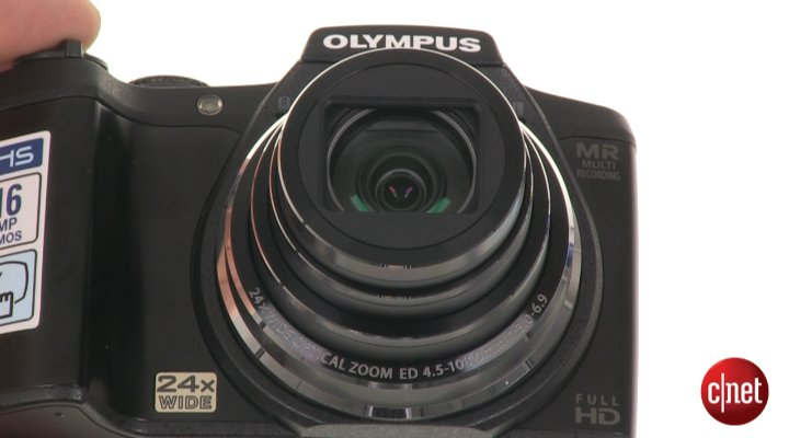 Démo de l'Olympus SZ-31MR