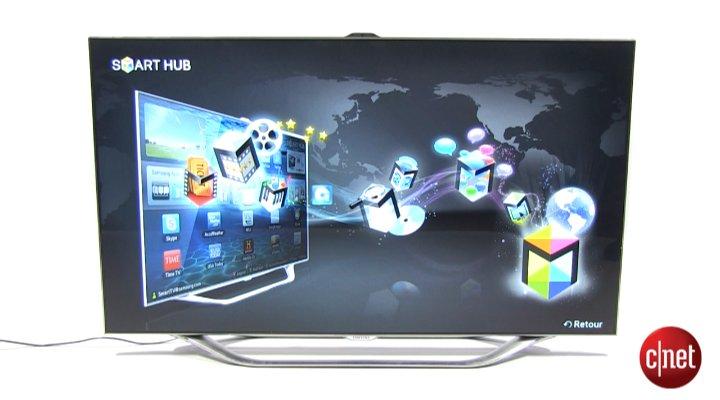 Démo de Samsung UE55ES8000