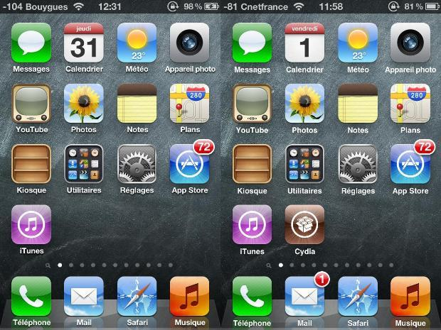 Tuto : Jailbreaker son iPhone sous iOS 5.1.1