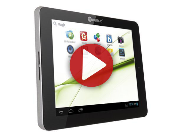 Démo de la Tablette Memup SlidePad NG 808
