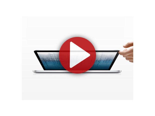 Démo de l'Apple MacBook Pro Retina 15 pouces