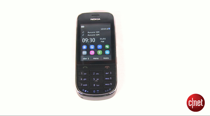 Démo du Nokia Asha 202