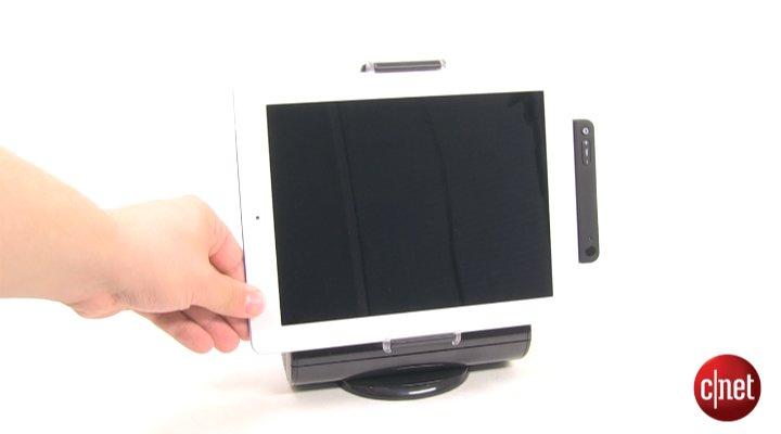 Démo du Logitech AV Stand for iPad