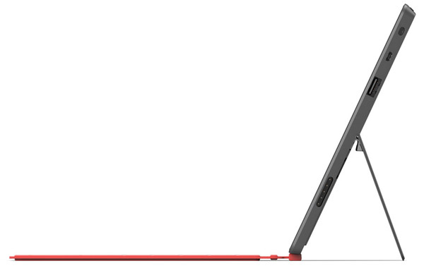 Microsoft Surface de profil